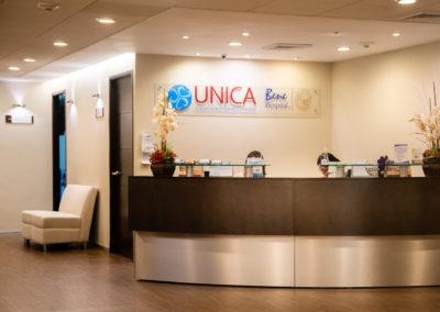 Recepción UNICA en Hospital La Bene