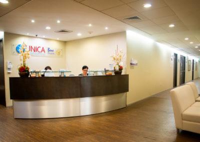 Recepción UNICA Hospital La Bene