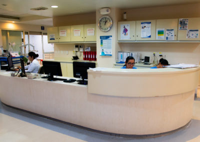 Unidad de terapia intensiva Hospital La Bene