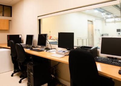 Sala de monitoreo hemodinamia Hospital La Bene